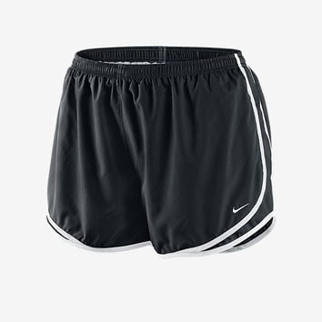 "The Nike Dry Tempo (Size 1X-3X) Women's 3"" Running Shorts."