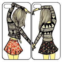 Sisters foreverSamsung Galaxy S3 S4 S5 S6 Edge Note 3 4 , iPhone 4 4S 5 5s 5c 6 Plus , iPod Touch 4 5 , HTC One M7 M8 M9 ,LG G2 G3 Couple Case
