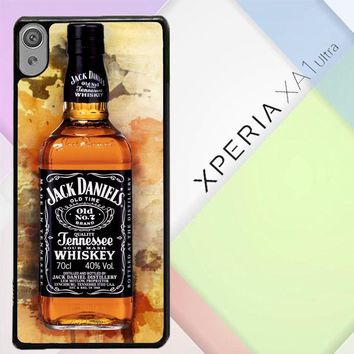 Jack Daniels Drinks W4917 Sony Xperia XA1 Ultra Case