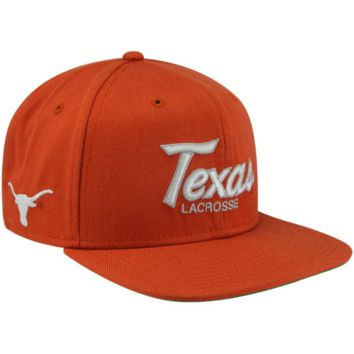 Nike Texas Longhorns Lacrosse Vintage Snapback Adjustable Hat - Burnt Orange