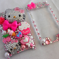 Hello Kitty and Sweets iPod Touch - 4th generation Bling Case
