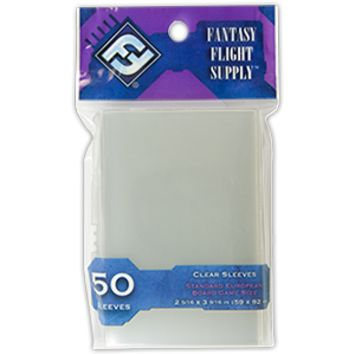 Standard European Board Game Sleeves (FFG Purple - 50)