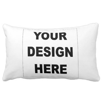 Personalized Polyester Lumbar Pillow