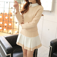 Apricot Long Sleeve Coat