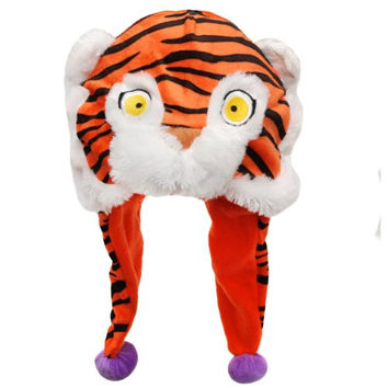 NCAA Clemson Tigers Thematic Mascot Dangle Hat