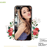 Ariana grande Phone Cases, iPhone 5/5S Case, iPhone 5C Case, iPhone 4/4S Case, Galaxy S3 S4 S5 Note 2 Note 3 Case for iPhone-A059