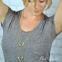 Double Digger Necklace (Gold)