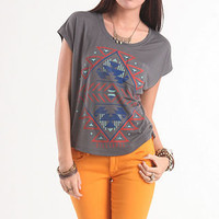 Graphic Tribal Muscle Tee