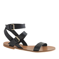 J.Crew Womens Leila Ankle-Wrap Sandals