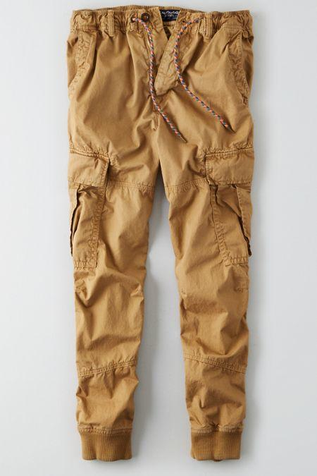 d038905009 AEO Men's Lightweight Cargo Jogger Pant from American Eagle