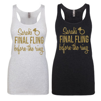 Final Fling Before the Ring Tanks