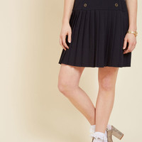 Dapper Hereafter A-Line Skirt