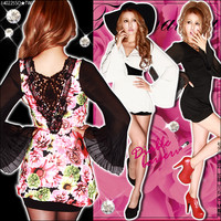 Fascinated Sexy back race♪Pitawanpi loose twist front I charm valley