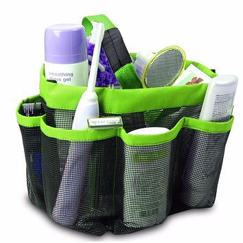 Mesh Fabric Quick Dry Shower Tote