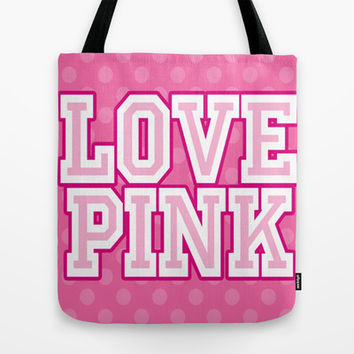 Love PINK Victoria's Secret Tote Bag by PinkBerryPatterns