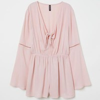 Jumpsuit with Knot Detail - Antique rose - Ladies | H&M US