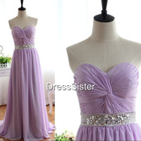 Bridesmaid Dresses - Lilac Bridesmaid Dress / Cheap Bridesmaid Dress / Lavender Bridesmaid Dress / Lilac Prom Dress / Lavender Prom Dress