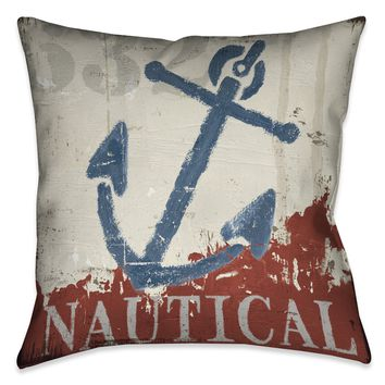 Nautical IV Indoor Decorative Pillow