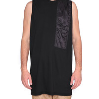 Drkshdw By Rick Owens Pocket Jumbo cotton tank top