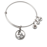 Minnie Mouse Bangle by Alex and Ani - Silver