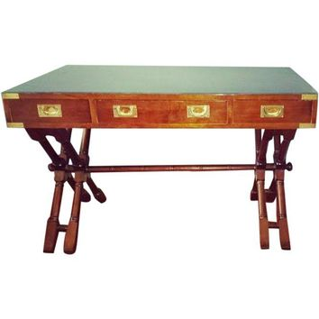 Pre-owned Mid-Century X Base Campaign Desk