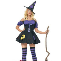 Halloween Witch Costume [8978980679]
