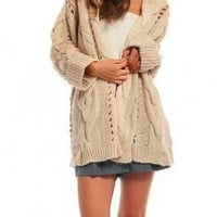 Easy Weekend and Afternoon Oversized Cardigan Sweater