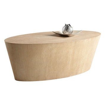 Sunpan Montague Coffee Table In Driftwood