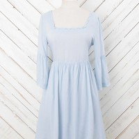 Tulip Bell Sleeve Dress | Altar'd State