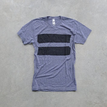 Equal. mens tshirt. anti-bullying shirt. equal sign on heather gray. t shirt men. tshirt for him