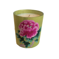 Spit Fire Girl Flower Candle