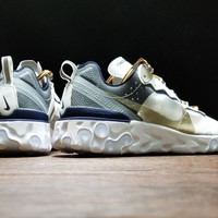[ Free  Shipping ]AQ1813-341!Undercover x Nike Upcoming React Element  Basketball  Sneaker