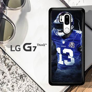 Odell Beckham Jr New York Giants X5642 LG G7 ThinQ Case