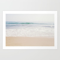 Malibu Picnic Art Print by cmcdonald