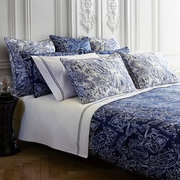 Frette At Home Via Margutta Duvet Cover in Blue/White