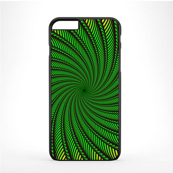 Psychedelic Spiral Glass Iphone 6 Plus | 6s Plus Case