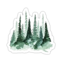'forest' Sticker by katanne011