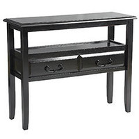 Pier 1 Imports - Pier 1 Imports > Catalog > Furniture > Pier1ToGo Product Details - Anywhere Console Table - Black