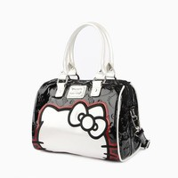 Hello Kitty Satchel: Black & White Exclusive