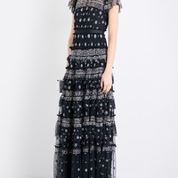 NEEDLE AND THREAD - Andromeda embellished tulle gown | Selfridges.com