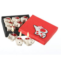 Mini Elephant Candles