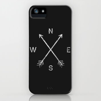 Compass iPhone & iPod Case by Zach Terrell