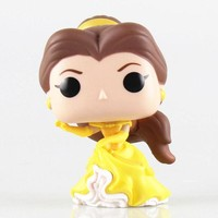 10cm New Funko Pop! Movies Beauty And The Beast Vinly Figure #221 BELLE
