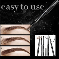 2016 Waterproof Eyebrow Pencil Pen Eye Brow Liner Cosmetic Makeup Beauty Tool Lasting girl [9325728964]