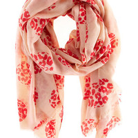 All Accessories | Naturals Leopard Spot Scarf  | Oasis
