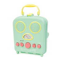 Water Resistant Retro Radio - Mint