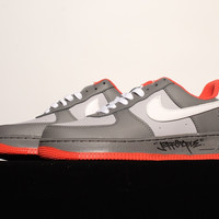 "Nike Air Force 1 ""Black Pigeon""Sneaker"