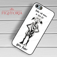 Harry Potter Dobby free elf quote -stle for iPhone 6S case, iPhone 5s case, iPhone 6 case, iPhone 4S, Samsung S6 Edge