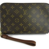 LOUIS VUITTON Pochette Orsay Pouch Bag Monogram Canvas M51790