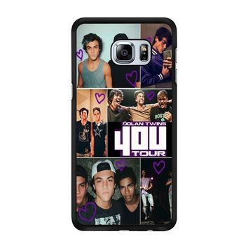 Dolan Twins 4Ou Tour Samsung Galaxy S6 Edge Plus Case